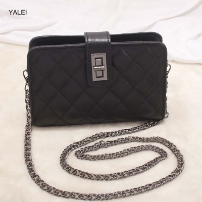 Sexy Bags New Fashion luxury brand handbags women shoulder  bags designer High quality  ladies sexy leather solid chain bags