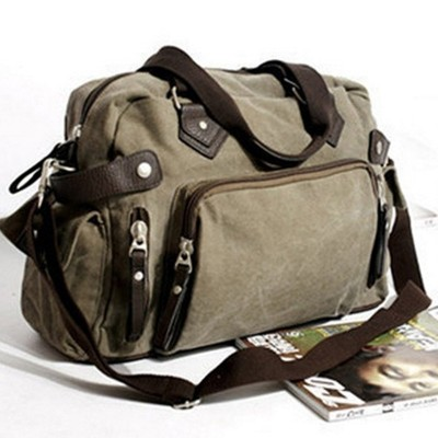 New shoulder casual bag messenger bag canvas man travel handbag for male trip/daily use