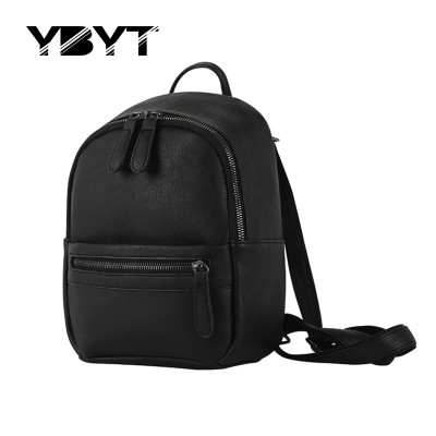small preppy style candy color rucksack hotsale zipper simple women shopping bag ladies mobile bookbags student school backpacks
