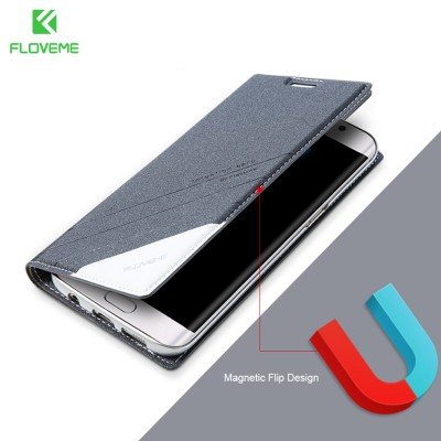 FLOVEME Flip Case For Samsung A7 A5 2019 Card Slot Case For Galaxy A5 A7 2019 Leather Stand Cases For Samsung Galaxy A5 A7 2019