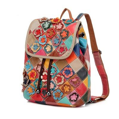women backpack vintage backpacks for teenage girls  Cute mini backpacks for women schoolbag