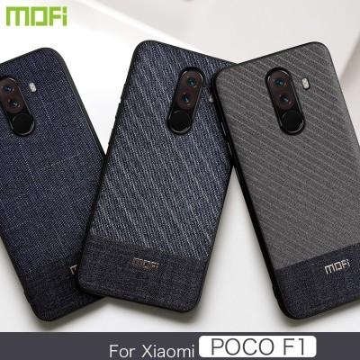 Xiaomi Pocophone F1  Case Mofi Business Fabrics Xiaomi Pocophone F1 Case Cover Back Cover