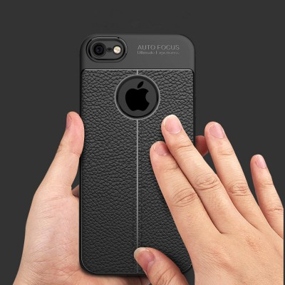 Luxury Shockproof Amor Matte Cover for iPhone 5 Case Leather Carbon Fiber Fundas for iPhone 5s Case Leather for iPhone SE Case