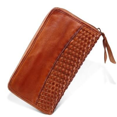 New Unisex Women Clutch RFID Wallets Genuine Leather Male Women's Wallet Zipper Coin Purse Luxury Long Clutch Wallet