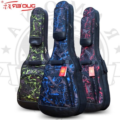 Top quality large 42 43 wood classica acoustic guitar bag gig soft case cover package with straps padded backpack waterproof