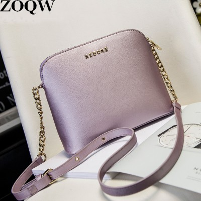 2019 Summer New Arrival Shell Women's Leather Bag Small Size Practical Elegant Women Messenger Bags Ladies Shoulder Bags GQ1568