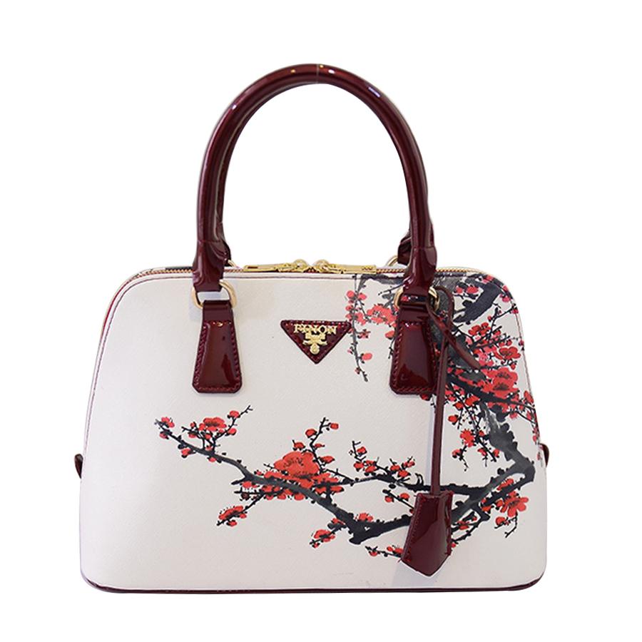 US Womens Flower Printed Lady Shoulder Bag Handbag Tote Shopping Bags Newly