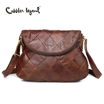 Cobbler Legend Brand Designer 2019 New Women's Crossbody Bag Female Handbags Vintage Shoulder Bags Ladies Genuine Leather Bag