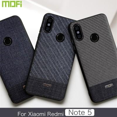 Xiaomi Redmi Note 5 Case Redmi Note 5 Cover Mofi Business Gentleman Fabric Redmi Note 5 Back Cover