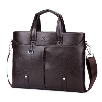 Brand Bag Men Briefcase Leather Laptop Tote Bags Business Man Crossbody Bag Mens Messenger Mens Paper Briefcases Bags 6688