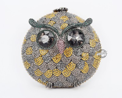Stylish Crystal evening clutch bags women owl clutch bag womens luxury designer bags Very beautiful inclined crossbody bag 88371