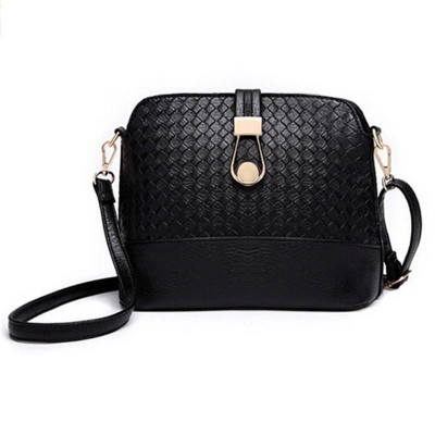 Knitting Women Messenger Bag Fashion Shell Female Bag Women Leather Bag Durable Cross-Body Women Bag Ladie Wallet Shoulder MB148
