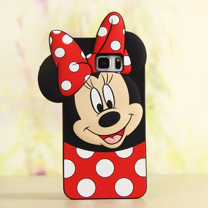 Mickey Mouse Phone Case Mickey Mouse 3D Cartoon Soft Silicone Case for Samsung Cartoon Phone Cases Personalised Phone Case Funny Phone Cases Cute Phone Cases Mickey Mouse Case