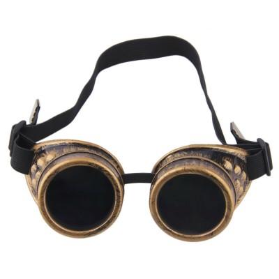 Cyber Goggles Steampunk Glasses Vintage Retro Welding Punk Gothic Sunglasses 2019 Fashion Retro Steampunk Cyber Goggles Glasses