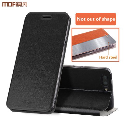MOFi Case for oneplus 5 flip case 1+5 stand case cover PU leather vintage style rui series holder one plus 5 cover capa coque