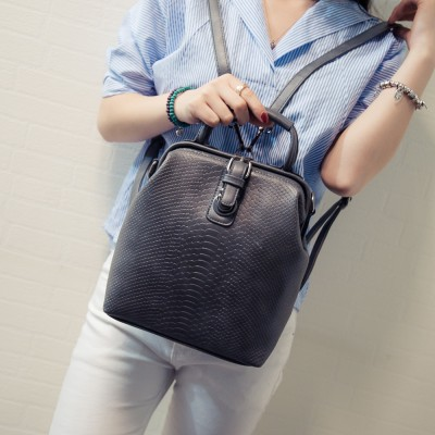 New Brand Hot European Women Ladies Famous Belt bags Womens PU Leather Rucksack Bag for adults girls