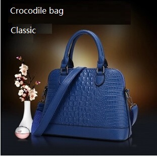 NEW crocodile shell bag genuine leather women handbag shoulder bag messenger bag