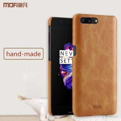 MOFi Case for oneplus 5 case cover pc hard cover one plus 5 case MOFi original 1+5 case oneplus5 cover capa coque funda back black matte pure
