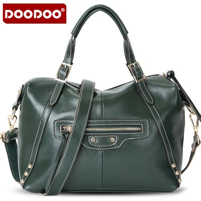 European Style Luxury Genuine Leather Women Shell Tote Bag Handbag Messenger Crossbody and Shoulder Bag