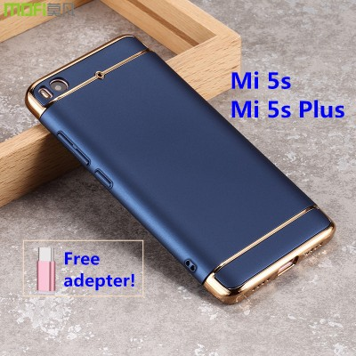 xiaomi mi 5s case cover xiaomi mi5s plus case back cover luxury xiaomi mi5 case MOFi original case mi 5s plus capa coque funda