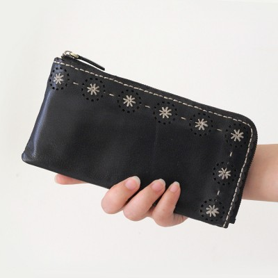 New Brand Design Fashion Genuine Leather Soft Cowhide Wallet Women Purse Female Clutch Wallets Ladies Vintage Long Cellphone Bag