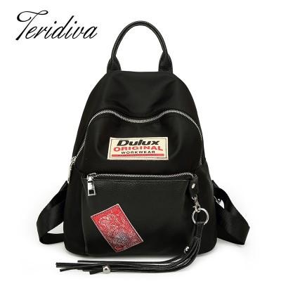 2019 New Fashion Tassel Backpack High Quality Women Backpacks School Bag Small Mini Backpacks For Girl Bags