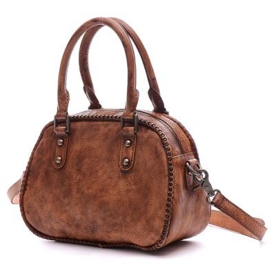 2019 New Arrival Flap Original Design Genuine Leather Vintage Women Handbags Crossbody Single Shoulder Totes Retro Style