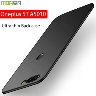 Oneplus 5t Case Cover Hard Back Luxury Full Cover Mofi Ultra Thin Oneplus 5 t Phone Case