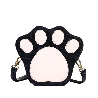 Mini Cute Bear Paw Shape Women Shoulder Bag Small Candy Color Handbag Ladies Crossbody Bag Gift for Girl