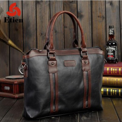 Men's bag  Large capacity bag  Leisure travel essential goods  Simple atmosphere