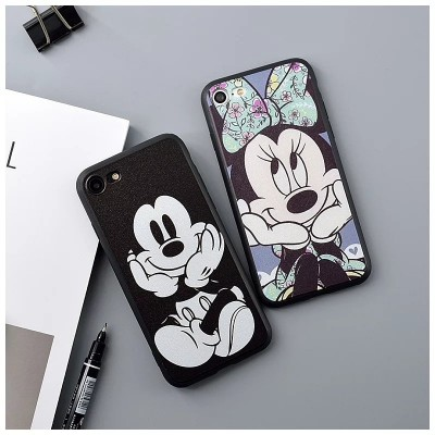 cartoon phone cases Fashion Cute Cartoon Mickey Minnie Mouse case For iPhone 6 6s 7 Plus 5s SE cover capa fundas coque for iphone 6s 5 7 phone cases cartoon cases