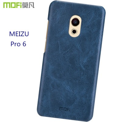 meizu pro 6 case pro 6s MOFi original meizu pro 6s case cover back PU leather hard case accessories coque funda shell 5.2 inch