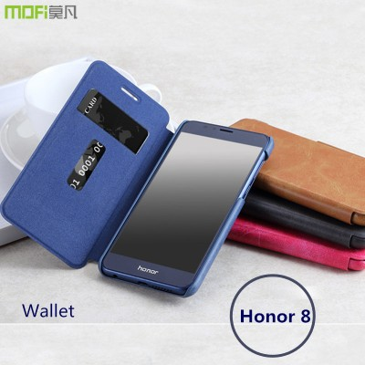 MOFi Case for Huawei honor 8 case wallet pouch card flip case MOFi original huawei honor 8  cover hawei honnor8 accessories capa coque funda