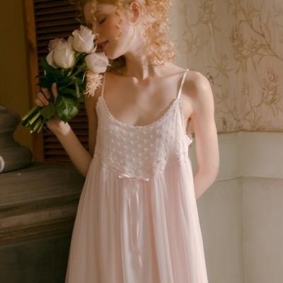 Sleepwear Camisole Skirt Woman Summer Lace Nighty Sexy Nightgown Nighties For Women Nightwear Boho