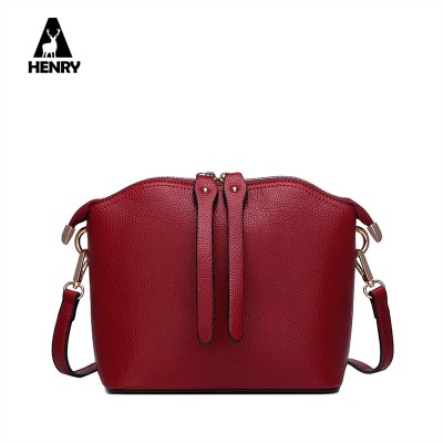 2019 Promotion Genuine Leather New Women Genuine Leather Shell Bag Cow Handbag Shoulder Messenger Famous Brand Designer Bags