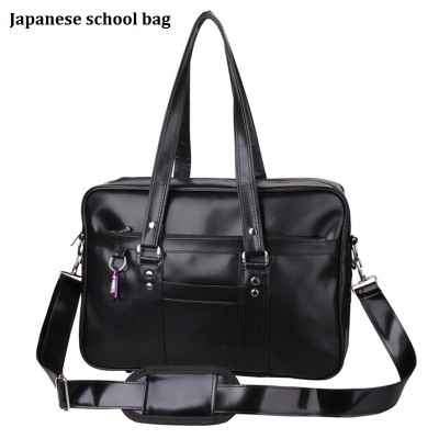 Japanese Fashion School Bags College Students Uniform Single Shoulder Bag Handbags Portable Laptop Hand Bags for Youth Bolsas