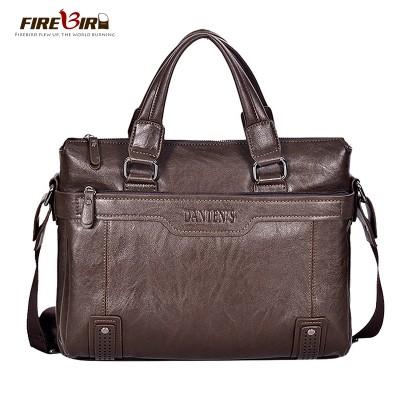 100% guaranteed genuine leather men handbags messenger bags brand luxury high quality laptop shoulder bag for Men Briefcase H141