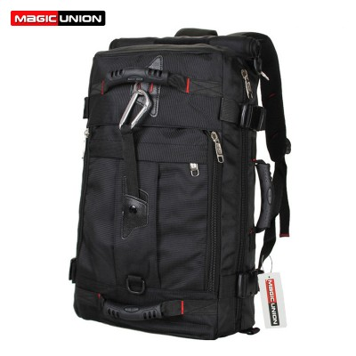 MAGIC UNION Brand Design Men's Travel Bags  Fashion Men Backpacks Men's Multi-purpose Travel Backpack Multifunction Shoulder Bag