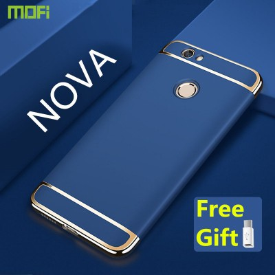 MOFi Case for Huawei nova case cover MOFi original luxury back case 3 in 1 joint cover capa coque funda hawei nova rose gold