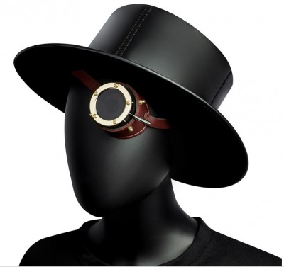 Safety goggles Vintage Steampunk goggles cyclops goggles Gothic Cosplay Costume for the left eye (Metal)