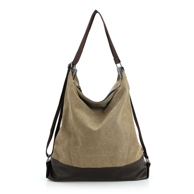 Canvas Women Bag Casual Messenger Bags Tote Hobo Buckets Designer Brand Vintage Fashion Women's Crossbody Bag Shoulder Handbags