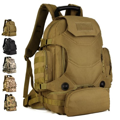 2019 Molle Military Backpack High-quality Waterproof Nylon Bag High-quality Multi-function Camouflage Bag
