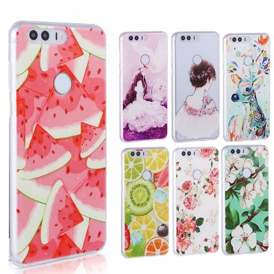 Soft TPU 3D Case for Huawei honor 8 case cover Back Case for Huawei honor 8 case cover honor 8