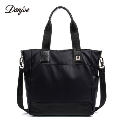 DANJUE Water-proof Oxford Men Handbag Wear-resisting Business Crossbody Bags Large Capacity New Messenger Bag Soft Leather
