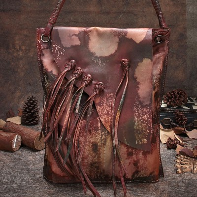 2019 Original Design Women Handbag Genuine Leather Handmade Women Shoulder Bags Cross Body Bags