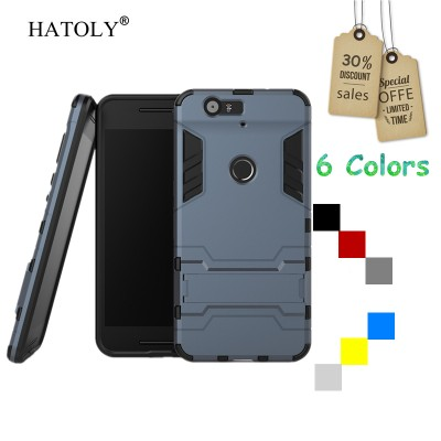 For Cover Google Nexus 6P Case Rubber Robot Armor Protective Hard Back Phone Case for Nexus 6P Cover for Nexus 6P Case