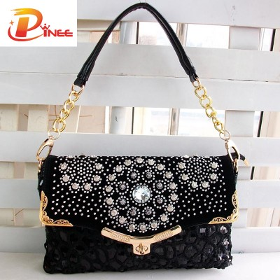 Rhinestone Handbags Designer Denim Handbags Women Bags Handbags Famous Brands High Quality woven Womens Shoulder Bag Messenger Bags Lady Purses