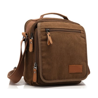 2019 New Men Canvas Bag Vintage Messenger  Bag Brand Business Handbags Casual Travel Shoulder Bag Men Crossbody Bag Male Bolsa