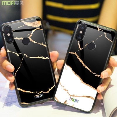 Xiaomi mi 8/mi 8 SE/mi 8 explorer Case Cover Fitted Case Tempered Glass Phone Case for Xiaomi Mofi