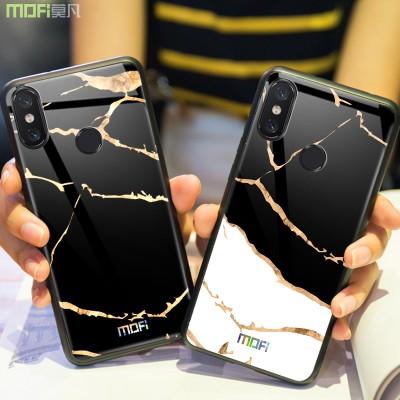 Xiaomi mi 8/mi 8 SE/mi 8 explorer Case Cover Fitted Case Tempered Glass Phone Case for Xiaomi Mofi